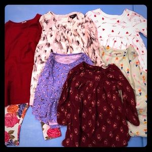 12-18 month girl- Old Navy, Baby Gap, Cat & Jack